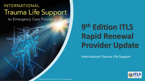 ITLS 9th Edition Rapid Renewal Provider Update cover slide